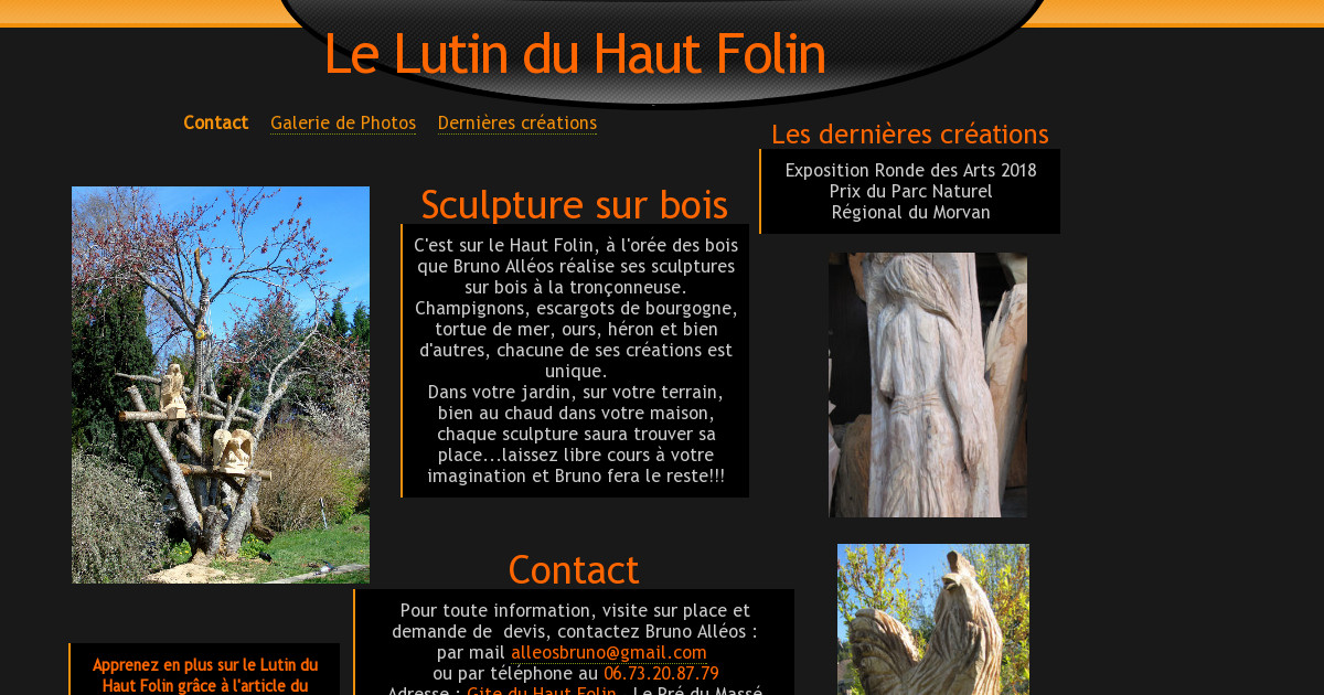 le lutin du haut folin contact. Black Bedroom Furniture Sets. Home Design Ideas
